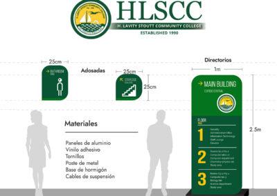 Señalización HLSCC