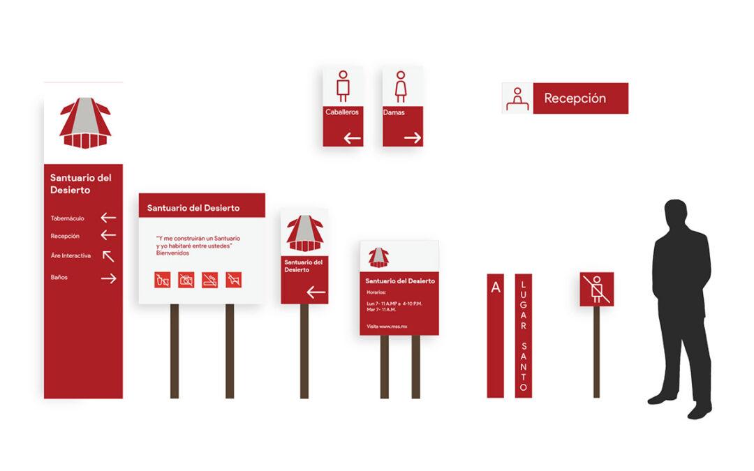 Sistema de señales para el Ministerio de Salvación en Símbolos