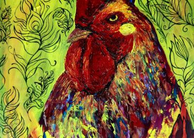 El gallo. Samuel Ramírez
