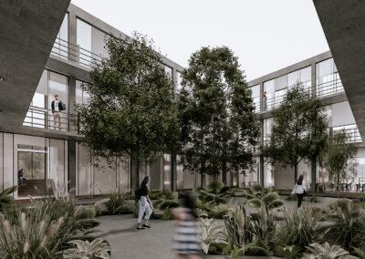 Relación humano-espacio: El estudio de cómo los estimulantes sensoriales del espacio arquitectónico y urbanístico se comunican con el ser humano.