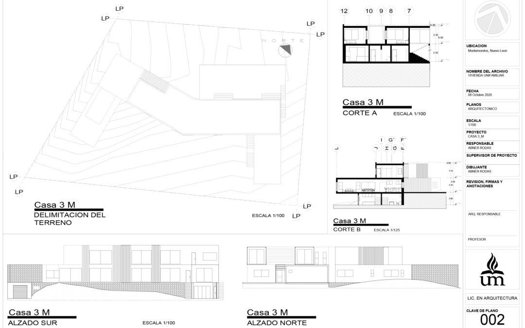 Planimetría Casa 3_M