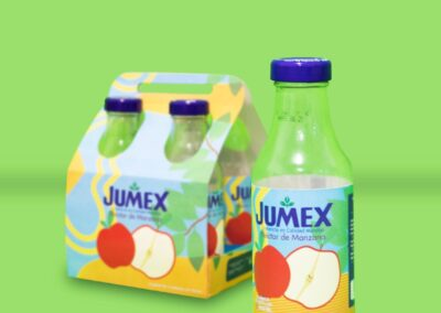 Empaque de producto Jumex